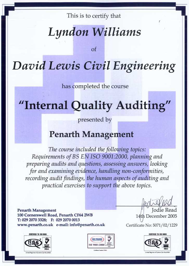 quality audit system Certified quality auditor exam: more than just number crunching: by greg hutchins i've been quality auditing for more than 15 years some would say the most significant requirement of the iso 9000 series is the need for internal quality auditing systems.