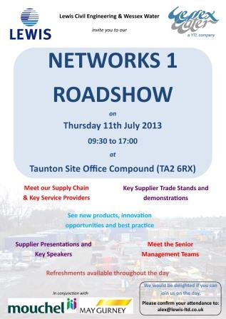 Our First Supplier Roadshow